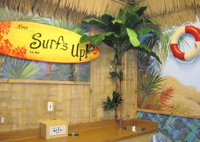 Surf's Up Tiki Hut