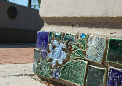 Glendale's Enlivened Pathway_Tile Close Up